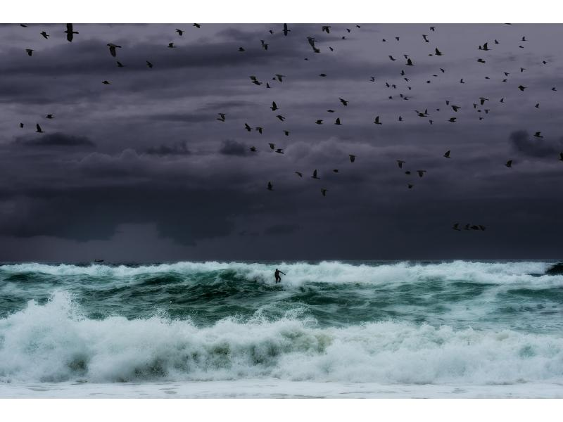 surf d'enfer, photographie de pierre moreau